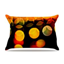 Lights Fleece Pillow Case