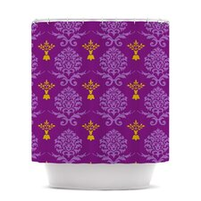 Crowns Polyester Shower Curtain