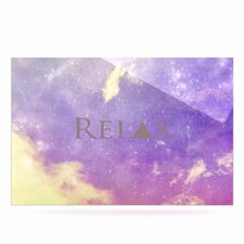 Relax by Rachel Burbee Graphic Art Plaque