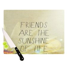 <strong>KESS InHouse</strong> Friends Sunshine Cutting Board