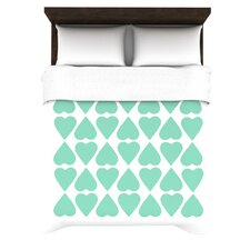 Diamonad Hearts Duvet Cover Collection