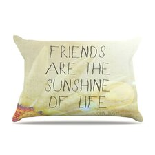 Friends Sunshine Fleece Pillow Case