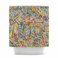 More Sprinkles Polyester Shower Curtain