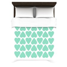 Up and Down Hearts Duvet Cover Collection