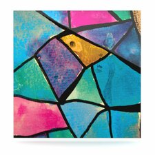 Stain Glass 2 Floating Art Panel