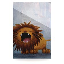 Dandy Lion Floating Art Panel