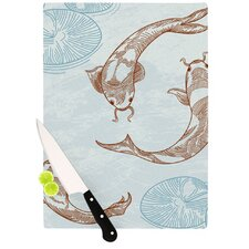 Koi Cutting Board
