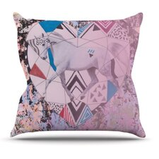 <strong>KESS InHouse</strong> Unicorn Throw Pillow