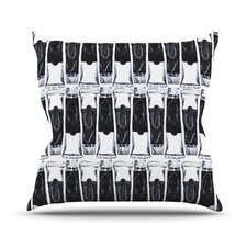 Paint Tubes Throw Pillow
