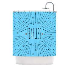 <strong>KESS InHouse</strong> Fearless Polyester Shower Curtain