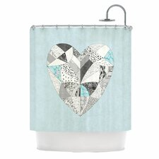 Comheartment Polyester Shower Curtain