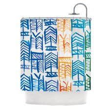 <strong>KESS InHouse</strong> Quiver II Polyester Shower Curtain