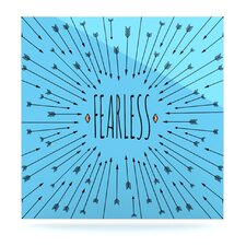 Fearless by Skye Zambrana Painting Print Plaque