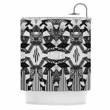 Tessellation Polyester Shower Curtain