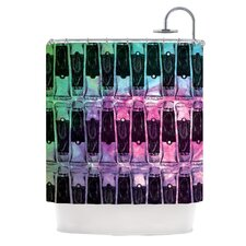 Paint Tubes II Polyester Shower Curtain