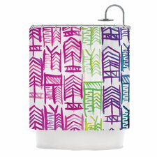 Quiver III Polyester Shower Curtain