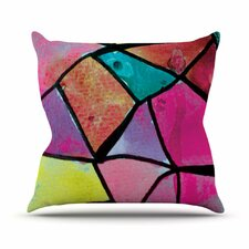 <strong>KESS InHouse</strong> Stain Glass 3 Throw Pillow