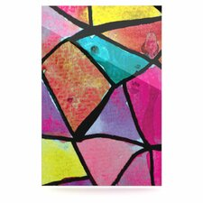 Stain Glass 3 Floating Art Panel