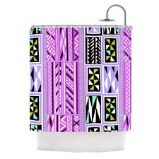 American Blanket Pattern II Polyester Shower Curtain