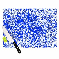 Bloom Blue for You Cutting Board