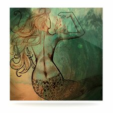 Poor Mermaid Floating Art Panel