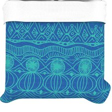 """Beach Blanket Confusion"" Woven Comforter Duvet Cover"