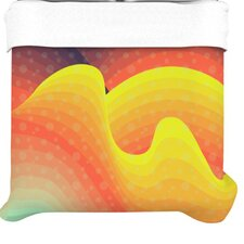 """Waves Waves"" Woven Comforter Duvet Cover"
