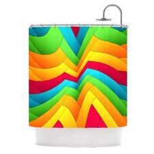 Olympia Polyester Shower Curtain