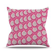 Oho Boho by Akwaflorell Throw Pillow