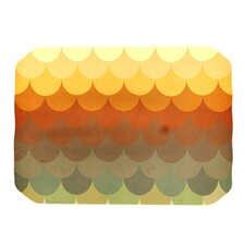 Half Circles Waves Placemat