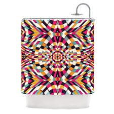 Rebel Ya Polyester Shower Curtain