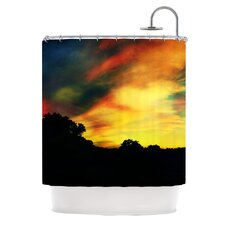 A Dreamscape Revisited Polyester Shower Curtain