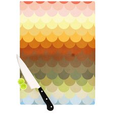 Half Circles Waves Cutting Board