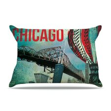 Chicago Microfiber Fleece Pillow Case