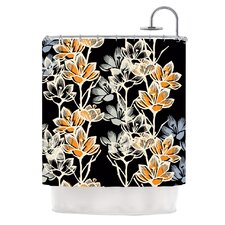 Crocus Polyester Shower Curtain