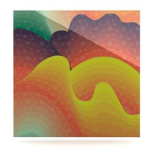 Waves, Waves by Akwaflorell Graphic Art Plaque