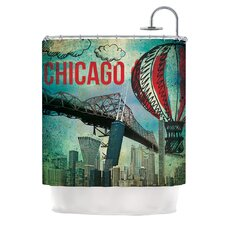 <strong>KESS InHouse</strong> Chicago Polyester Shower Curtain