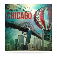 Chicago by iRuz33 Graphic Art Plaque