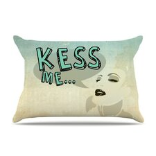 Kess Me Microfiber Fleece Pillow Case