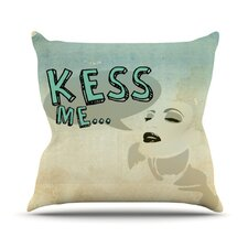 Kess Me Throw Pillow