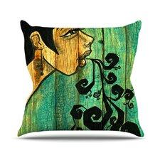 Breathe by Jaidyn Erickson Throw Pillow