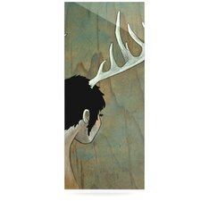 Antlers Floating Art Panel