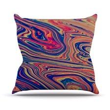 Soap and Water Throw Pillow