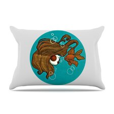 Goldfish Microfiber Fleece Pillow Case