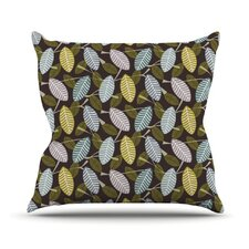 Moss Canopy Throw Pillow
