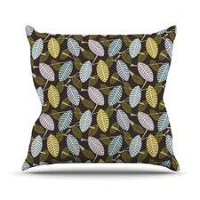 Moss Canopy by Julie Hamilton Throw Pillow