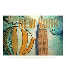 New York by iRuz33 Graphic Art Plaque