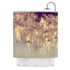<strong>KESS InHouse</strong> Sparkles of Gold Polyester Shower Curtain