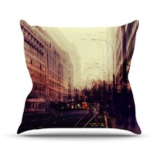 London by Ingrid Beddoes Throw Pillow