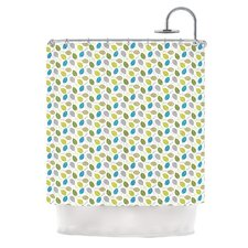 Tangled Polyester Shower Curtain